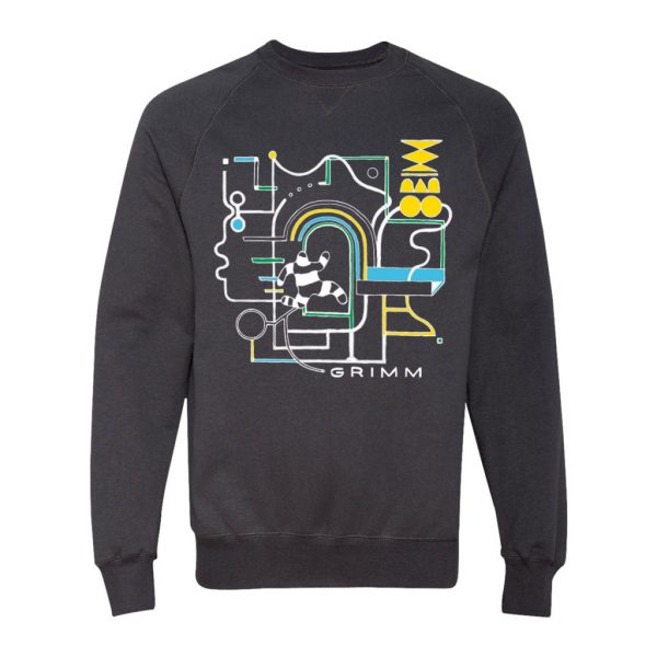 CIRCUIT SWEATSHIRT - BLACK