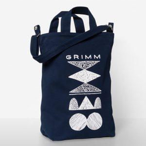 Grimm x BAGGU Canvas Duck Bag