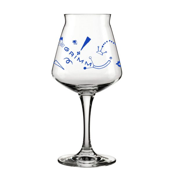 GRIMM TEKU GLASS - COBALT BLUE
